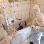 desinfektion,tatort reinigung